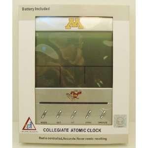 GOLDEN GOPHER Collegiate Digital Atomic Clock: Sports & Outdoors