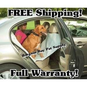 Bergan Dog Pet Hammock DELUXE Seat Protector Cover Gray 879213001124