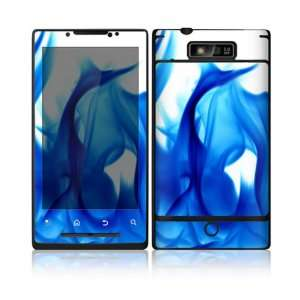 Blue Flame Design Decorative Skin Cover Decal Sticker for