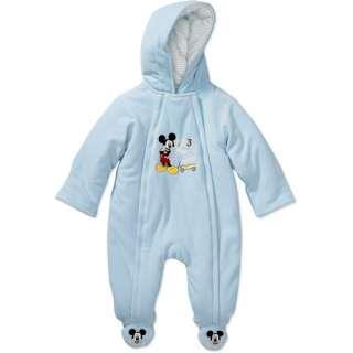 Disney   Newborn Boys Mickey Mouse Stroller Bodysuit