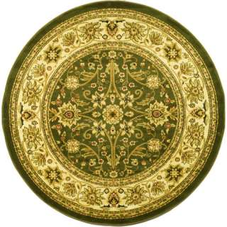 Safavieh Lyndhurst Traditional Round Area Rug, Sage and