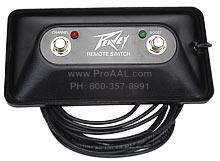 Peavey Valveking Windsor Amp Replacement Footswitch