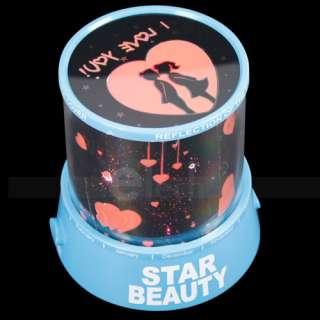 Romantic Night Projector Light Lamp Sweet Love Star Sky