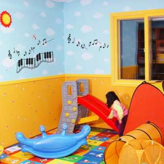 Music Piano KIDS Adhesive WALL STICKER Removable Decal