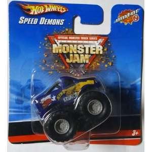 WHEELS Monster Jam SPEED DEMONS King Krunch mini pull back truck 1.5