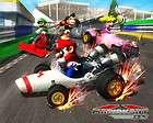 Super Mario Kart Car Game Racing Box Silk Poster 17