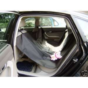 Black Hammock Pet Dog Car Auto Waterproof Seat Cover