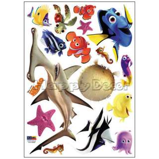 finding nemo fish kid wall removable decal sticker