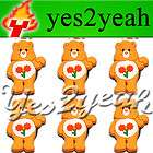 6X Best Friend Care Bear Shoe Charms Fits Jibbitz #1642