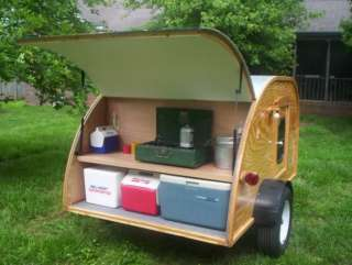 bought plans and have built or are building a Teardrop camper trailer