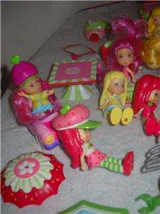 Strawberry Shortcake Mini Berry Furniture Scooter Orange Blossom Dolls