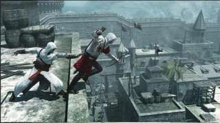 Creed 2 II Anime Ezio Black White Boy Girl Cosplay Costume Express