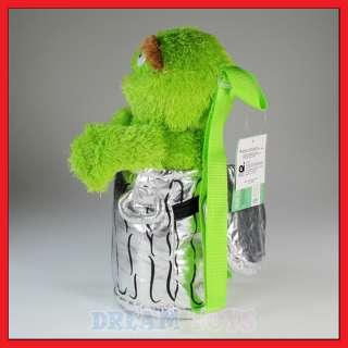 15 Sesame Street Oscar the Grouch Plush Backpack