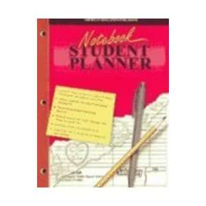 Notebook Student Planner (9780769628899): School Specialty
