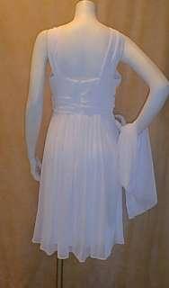 New White 3 Roses Wedding Maternity Dress XL Bridal NWT