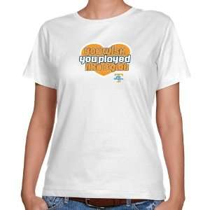 UT Vols T Shirt : Tennessee Lady Vols Ladies White Wish Girl Classic