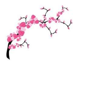 Cherry Blossom Tree Branch Stickers Arts, Crafts & Sewing